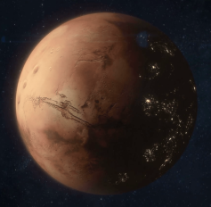 Colonised Mars