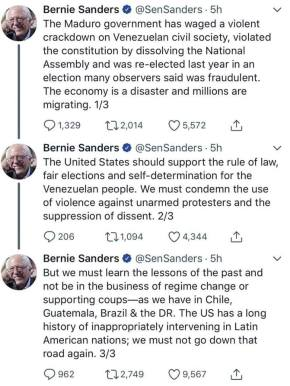 bernie venezuela